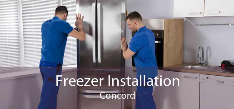 Freezer Installation Concord
