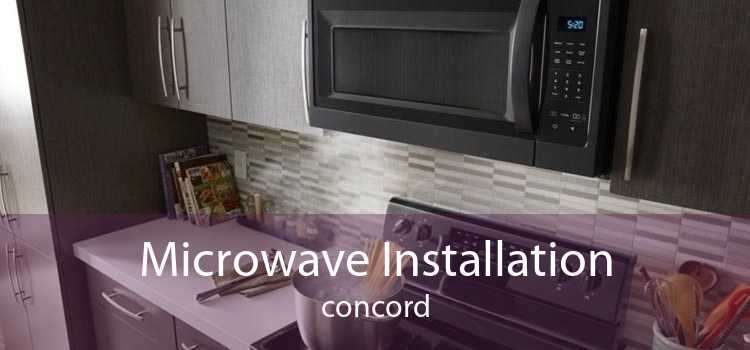 Microwave Installation Concord