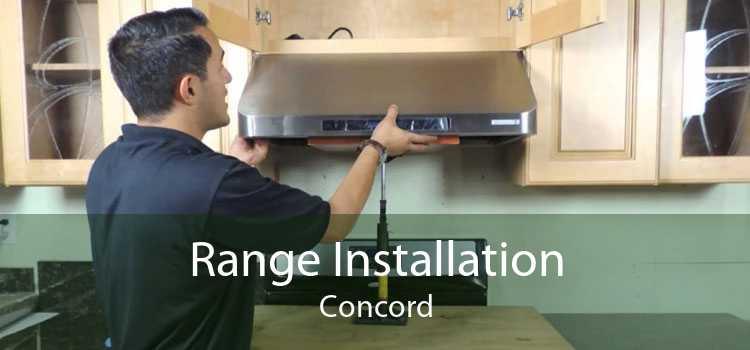 Range Installation Concord