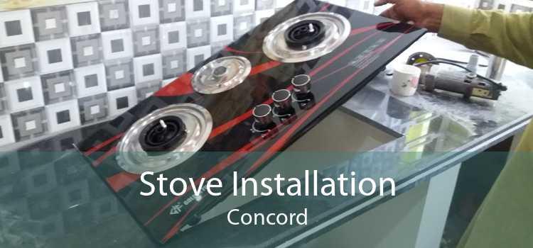 Stove Installation Concord
