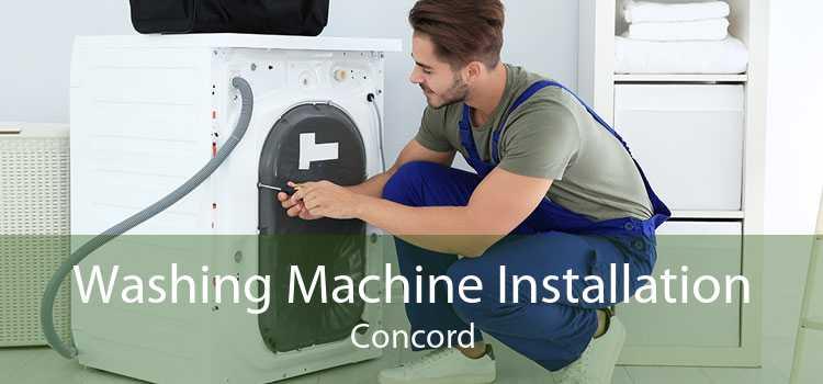 Washing Machine Installation Concord